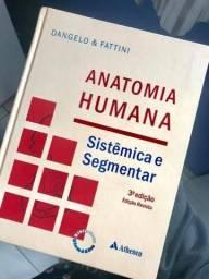 Livro - Anatomia Humana Sistêmica e Segmentar em ótimo estado