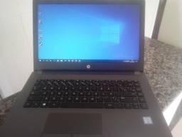 Notebook HP i3 7a geração