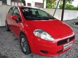 Fiat Punto Atractive 1.4 2012 - Com Gnv