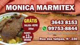 Marmitas comida caseira
