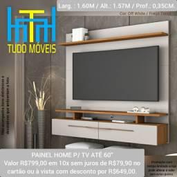 Painel  Home P/ TV até 60 Polegadas 2 Portas
