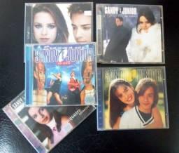 5 Cd's Originais de Sandy & Junior