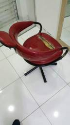 Cadeira para cabeleireiro barbeiro - barbearia