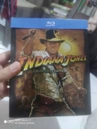 Indiana Jones coleção blu-ray digipack 5 discos