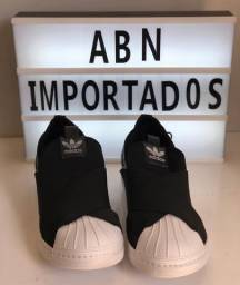 Adidas preto elástico