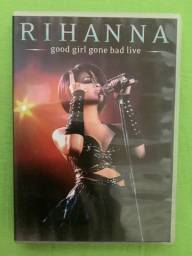 DVD Rihanna, good girl gone bad live
