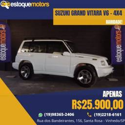 Título do anúncio: Suzuki Grand Vitara V6 - Raridade!!!