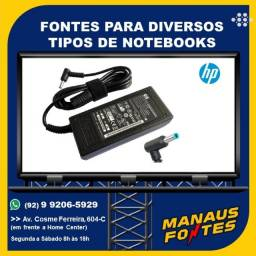 Fonte Notebook HP Ponta Fina