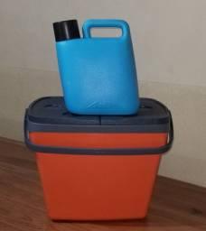 Caixa Térmica Soprano 35 Litros e Garrafa Térmica  5 litros
