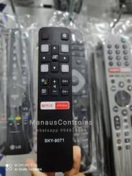 Controle Tv Semp Tcl Android ( Pilhas de brinde )