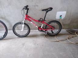 Bicicleta Caloi Wild XS 7 marchas R$ 700,00