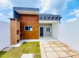 DP casa nova com projeto moderno:3 quartos 2 banheiros pertinho de messejana