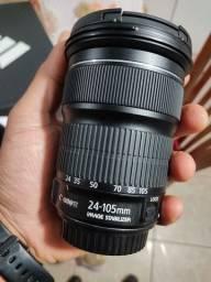 Título do anúncio: Lente Canon EF 24-105 3.5/5.6