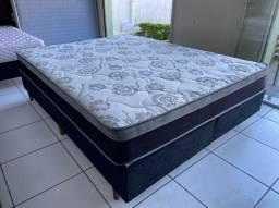 PARA VENDER HOJE- cama box queen size