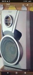 02 caixas de som sony