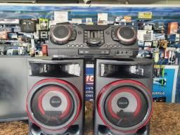 Título do anúncio: Som Porente LG X Boom com som DJ 2350 wtss rms