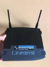 Roteador de banda larga 2.4 ghz linksys