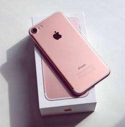 Título do anúncio: iPhone 7 Rosé 128GB (Vitrine!) - Completo c/todos Acessórios + BRINDE!