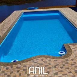 LS -Piscina de fibra 8 metros - Anil piscinas