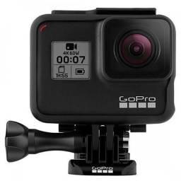 Título do anúncio: Câmera Hero 7 Black à Prova D?água 12MP 4K Wifi, GoPro, Preto + Kit Acessórios