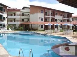 Apartamento com 2 dormitórios à venda, 55 m² por R$ 290.000,00 - Porto das Dunas - Aquiraz