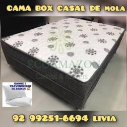 cama box casal molas ortobom  %%05