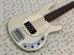 Título do anúncio: Contrabaixo Music Man StingRay 5 Classic. Baixo feito por encomenda (luthier)