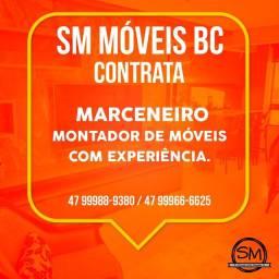 CONTRATA-SE MARCENEIRO E MONTADOR DE MÓVEIS