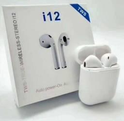 Fone de ouvido Airpods i12 Bluetooth