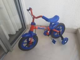 Título do anúncio: Bicicleta Infantil Aro 12 Track & Bikes Track - Vermelha/Azul<br><br>