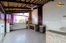 Apartamento Cobertura para aluguel, 3 quartos, 1 suíte, 2 vagas, Sidil - Divinópolis/MG
