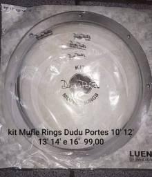 Kit Mufle Rings Dudu Portes 10' 12' 13' 14' 16'