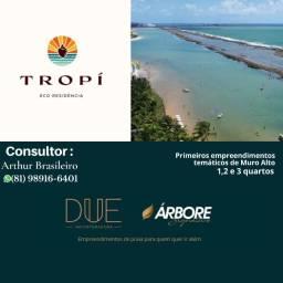 Título do anúncio: BHA- Beira Mar De muro alto/Due/3 e 2quartos/Piscina Privativa/56m² a 106m²