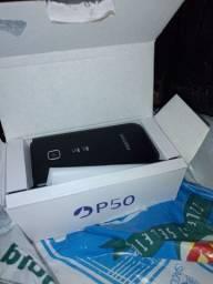 Celular POSITIVO FLIP P50 na caixa