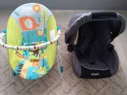 Cadeirinha de descanso vibratória ( Acompanha pilha) Bebê conforto  100 Reis