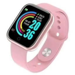 Título do anúncio: Relógio Smartwatch D20 Rosa