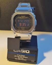 Casio DW5600-MS g shock orginal com mod para GMWB 5000 D1 Full metal