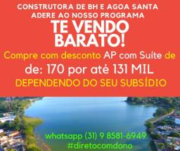 Título do anúncio: Procurando apartamento no Cenáculo Venda Nova? Tenho no Vetor Norte -Lagoa Santa 149Mil!