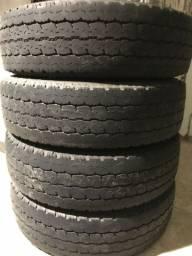 Pneus Bridgestone 195/75/16 8 lonas