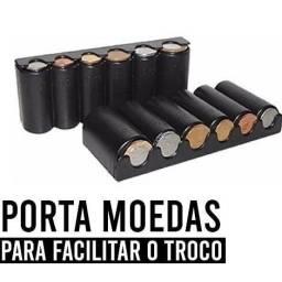 Porta Moedas com mola,NOVO/ACEITO TROCAS<br>