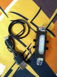 LED recarregável para ciclista/novo
