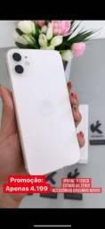 iPhone 11 Branco 128gb - Só 4.199 pra vender hoje!