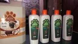 Shampoos e condicionadores para Banho e  Tosa