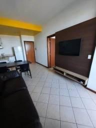 Apartamento para locação em Patamares, 1/4, 61 m2, vista mar, mobiliado