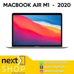 Promoção MacBook Air 20,256GB, Chip M1. Novo, lacrado. Loja física