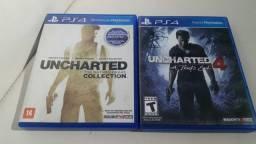 Uncharted PS4 coletânea