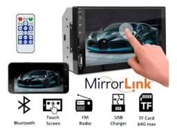 Central Multimídia Universal Tela Full Touch *