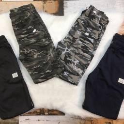 Kit com 5 calças juvenil atacado sortidas