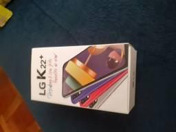 Vendo celular novo na caixa LGK 22 +