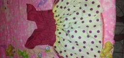 2 vestidos temáticos infantis